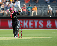 26th December 2019; Optus Stadium, Perth, Western Australia, Australia;  Big Bash League Cricket, Perth Scorchers versus Sydney Sixers; Josh Philippe of the Sydney Sixers gets an edge to the ball to be caught behind for 9 - Editorial Use