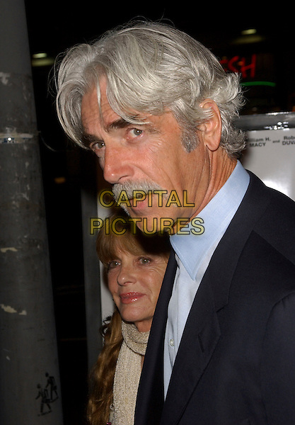 "SAM ELLIOTT.L.A. Premiere of ""Thank You for Smoking"" held at The Directors Guild of America in Hollywood, California, USA. March 16th, 2006 .Ref: DVS.headshot portrait mustache facial hair.www.capitalpictures.com.sales@capitalpictures.com.Supplied By Capital PIctures"