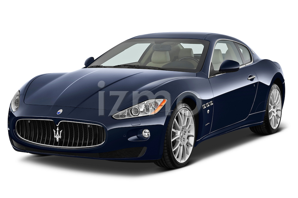 Front three quarter view of a 2010 Maserati Granturismo S Automatic Coupe