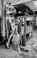 fabbrica di manichini Bonaveri, Cento, provincia di Ferrara, Italia,