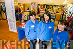 New St  Vincents de Paul Shop in Castle St. Pictured Teresa Lynch, volunteer, Maeve Leahy, Manager, and Ann O'Connor