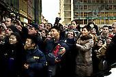 Wroclaw 10.12.2008 Poland<br /> The Tibetans lives in Poland awaits for His Holiness XIV Dalai Lama after He has receive the honorary citizenship of south-western city Wroclaw.<br /> Photo: Adam Lach / Napo Images<br /> <br /> Tybetanczycy zyjacy w Polsce oczekuja na Dalajlame tuz po tym jak otrzymal honorowe obywatelstwo Wroclawia.<br /> Fot. Adam Lach / Napo Images