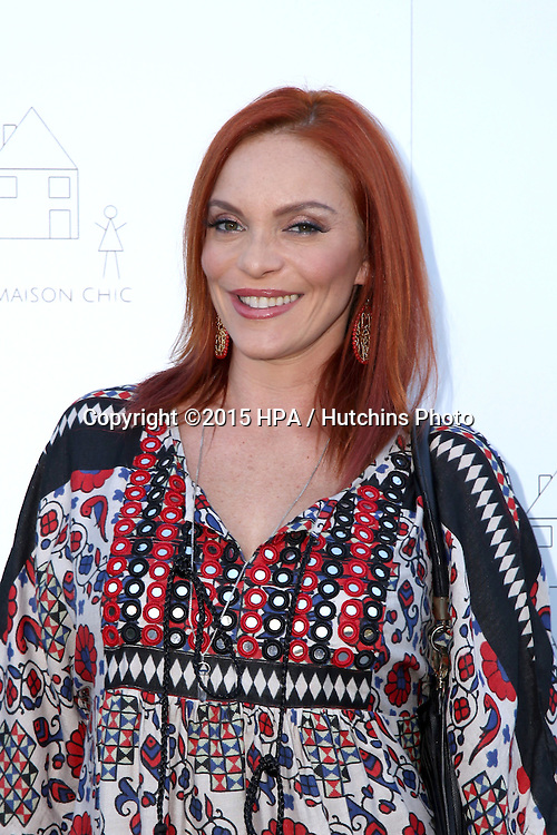 LOS ANGELES - NOV 21:  Carmit Bachar at the Petit Maison Chic and Operation Smile Fashion Show at the Private Location on November 21, 2015 in Beverly Hills, CA