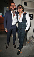 Pete Wicks and Kem Cetinay at the Specsavers' Spectacle Wearer of the Year Awards 2017, 8 Northumberland Avenue, Northumberland Avenue, London, England, UK, on Tuesday 10 October 2017.<br /> CAP/CAN<br /> &copy;CAN/Capital Pictures