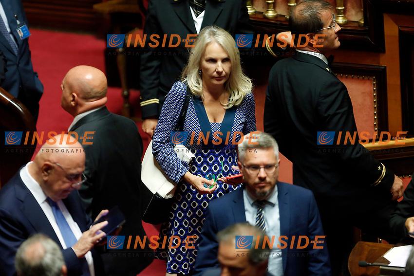 Julia Unterberger <br /> Rome September 10th 2019. Senate. Discussion and Trust vote at the new Government. <br /> Foto  Samantha Zucchi Insidefoto