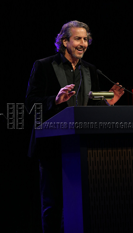 Daniel Ezralow  on stage at the Stage Directors and Choreographers Foundation event honoring Julie Taymor with the Mr. Abbott Award at the Bohemian National Hall on April 2, 2018 in New York City.