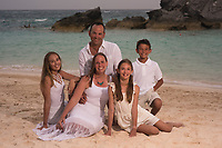 Rogers family at the Fairmont Beach