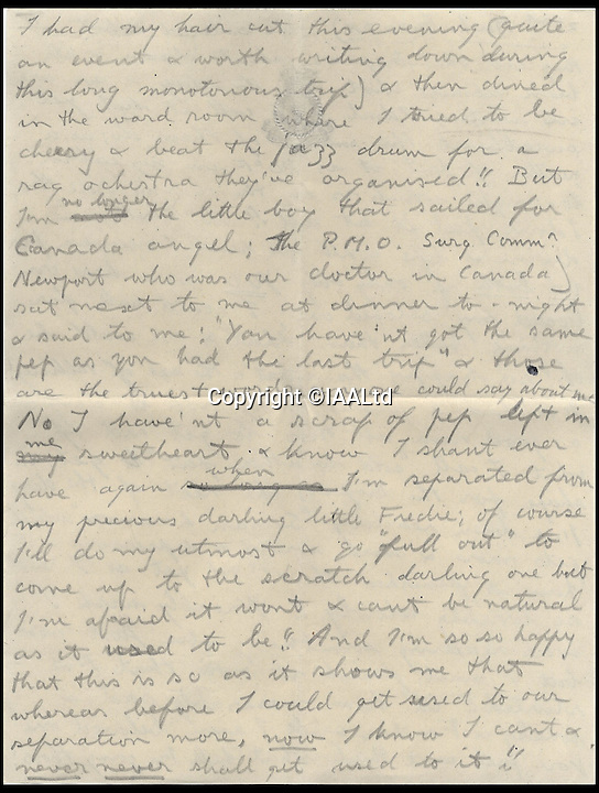 BNPs.co.uk (01202 558833)<br /> Pic: IAALtd/BNPS <br /> <br /> ***Use Full Byline***<br /> <br /> Page five of Edward VIII letter. <br /> <br /> A remarkable letter written by controversial monarch Edward VIII that exposes him as an ungrateful, sexist and racist prince has come to light.<br /> The Prince of Wales, who later became the first King to voluntarily abdicate, told of the 'miserable and loathsome' time he was having on a Caribbean cruise.<br /> He visited Barbados in 1920 in what was supposed to be a diplomatic trip of the British Empire but he described the tropical paradise as a 'bum place'.<br /> The Royal reported the local scenery as being 'ugly' and he found the 'coloured population' to be 'revolting'.<br /> The letter is being sold on Saturday in London.