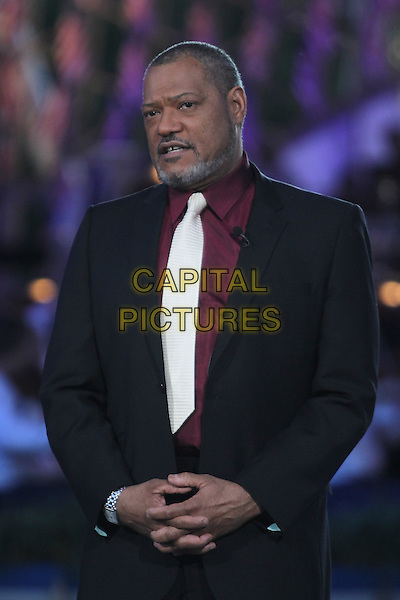 WASHINGTON, D.C. - MAY 23: Laurence Fishburne pictured at the National Memorial Day Concert rehearsal the West Lawn of The U.S. Capital in Washington, D.C. on May 23, 2015.  <br /> CAP/MPI/mpi34<br /> &copy;mpi34/MediaPunch/Capital Pictures