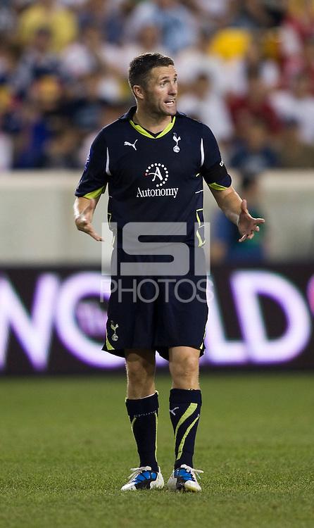 Robbie Keane. Tottenham defeated the New York Red Bulls, 2-1.