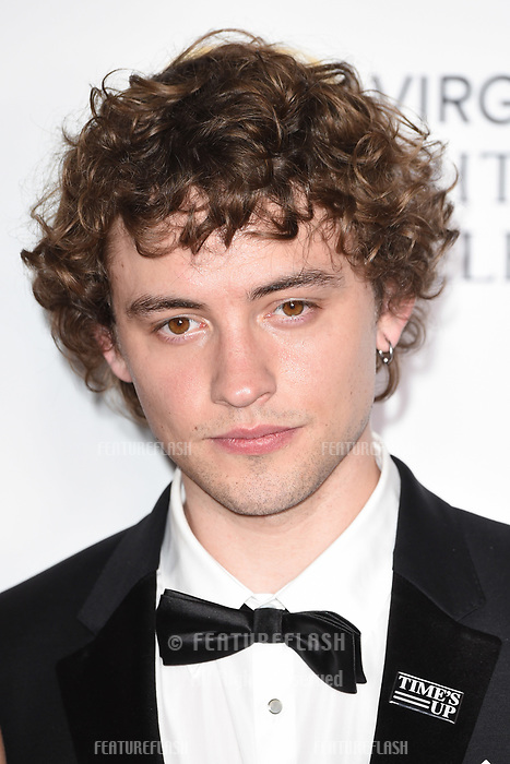 Josh Whitehouse in the winners room for the BAFTA TV Awards 2018 at the Royal Festival Hall, London, UK. <br /> 13 May  2018<br /> Picture: Steve Vas/Featureflash/SilverHub 0208 004 5359 sales@silverhubmedia.com