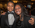 Xavier and Maali DeLeon during the 29th Annual Dr. Martin Luther King, Jr. Dinner Celebration at the Atlantis Casino Resort Spa in Reno, Monday night, Jan. 16, 2017.