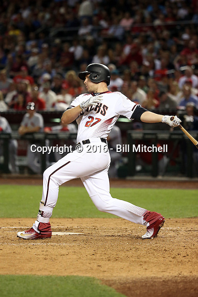 Brandon Drury - 2016 Arizona Diamondbacks (Bill Mitchell)