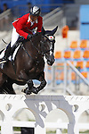 Toshiki Masui (JPN),<br /> AUGUST 14, 2016 - Equestrian : <br /> Jumping Individual Qualification <br /> at Olympic Equestrian Centre <br /> during the Rio 2016 Olympic Games in Rio de Janeiro, Brazil. <br /> (Photo by Koji Aoki/AFLO SPORT)