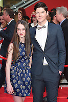 Raffey Cassidy<br /> arrives for the European premiere of &quot;Captain America: Civil War&quot; at Westfield, Shepherds Bush, London<br /> <br /> <br /> &copy;Ash Knotek  D3111 26/04/2016
