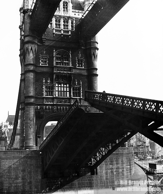 Tower Bridge London 1940s