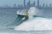 Snapper Rocks, COOLANGATTA, Queensland/AUS (Wednesday, March 16, 2016) Adriano de Souza (BRA)  - Australian surfers Matty Wilkinson (AUS) and Tyler Wright (AUS) made it an Aussie double when he Quiksilver and Roxy Pro Gold Coast,  wrapped up today  with  in clean three-to-five foot (1 - 1.5 metre) waves at Snapper Rocks.<br /> <br /> Wilkinson defeated Kolohe Andino (USA) in the Quiksilver Pro while Wright just got past Courtney Conlogue (USA). <br />  .Photo: joliphotos.com