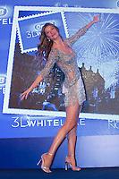 SAO PAULO. SP, 1012.2013. GISELE BUNDCHEN. A top model Gisele Bundchen durante evento de lançamento dos novos produtos da Oral B. O evento aconteceu na tarde desta terça feira (10) no World Trade Center (WTC) na zona sul da capital paulista. (Foto: Adriana Spaca/Brazil Photo Press)