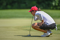 Carlota Ciganda (ESP) lines up her putt on 10 during round 3 of the 2018 KPMG Women's PGA Championship, Kemper Lakes Golf Club, at Kildeer, Illinois, USA. 6/30/2018.<br /> Picture: Golffile | Ken Murray<br /> <br /> All photo usage must carry mandatory copyright credit (&copy; Golffile | Ken Murray)