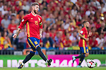 Sergio Ramos of Spain in action during their 2018 FIFA World Cup Russia Final Qualification Round 1 Group G match between Spain and Italy on 02 September 2017, at Santiago Bernabeu Stadium, in Madrid, Spain. Photo by Diego Gonzalez / Power Sport Images