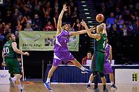 Saints&rsquo; Shea Ili in action during the NBL - Wellington Saints v Supercity Rangers at TSB Bank Arena, Wellington, New Zealand on Friday 5 May 2017.<br /> Photo by Masanori Udagawa<br /> www.photowellington.photoshelter.com.