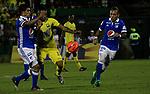 Atlético Bucaramanga igualó como local 0-0 ante Millonarios. Cuartos de final ida Liga Águila I-2017.