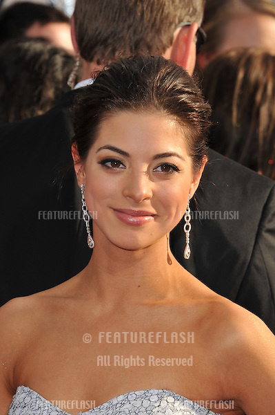 Gia Mantegna at the 68th Annual Golden Globe Awards at the Beverly Hilton Hotel..January 16, 2011  Beverly Hills, CA.Picture: Paul Smith / Featureflash