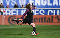 Harrison, N.J. - Sunday March 04, 2018: Alyssa Naeher during a 2018 SheBelieves Cup match between the women's national teams of the United States (USA) and France (FRA) at Red Bull Arena.