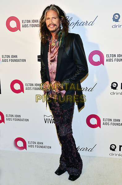 02 March 2014 - West Hollywood, California - Steven Tyler. 22nd Annual Elton John Academy Awards Viewing Party held at West Hollywood Park. <br /> CAP/ADM/CC<br /> &copy;CC/AdMedia/Capital Pictures