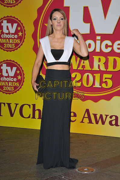 Katie Piper attends the TV Choice Awards 2015, London Hilton Park Lane Hotel, Park Lane, London, England, UK, on Monday 07 September 2015. <br /> CAP/CAN<br /> &copy;CAN/Capital Pictures