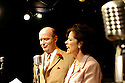 Round The Horne Revisited  with Jonathan Rigby as Kenneth Horne, Kate Brown as Betty Marsden opens at the Venue 22/1/03  CREDIT Geraint Lewis