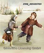 Isabella, CHRISTMAS SANTA, SNOWMAN, WEIHNACHTSMÄNNER, SCHNEEMÄNNER, PAPÁ NOEL, MUÑECOS DE NIEVE, nostalgic, paintings+++++,ITKEK20486729,#X#