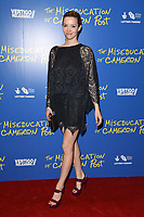 "Tallulah Riley<br /> arriving for the premiere of ""The Miseducation of Cameron Post"" screening at Picturehouse Central, London<br /> <br /> ©Ash Knotek  D3424  22/08/2018"
