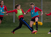 Carson, CA - January 10, 2018: The USWNT trains during their annual January camp in California.