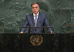 72 General Debate &ndash; 20 September <br /> <br /> His Excellency Filip Vujanović, President of Montenegro