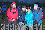 Pictured at Cronins Yard ahead of the annual St Stephens Day climb of Carrauntoohill were John Cronin, Basil and Angela Sheerin and John O'Shea.