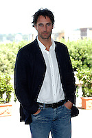 """RAOUL BOVA.Photcall for the film """"Io, l'altro"""", Campidoglio, Rome, Italy..May 10th, 2007.half length hands in pockets blue jacket  .CAP/CAV.©Luca Cavallari/Capital Pictures"""