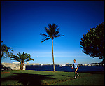 Palm Beach has plentiful running trails for joggers. Included are the beaches in Boca Raton and the waterfront area on the island of Palm Beach