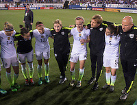 Boca Raton, FL - March 9, 2016: The USWNT defeated Germany 2-1 in the SheBelieves Cup at FAU Stadium.