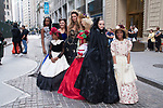 Image from the Ashley Victorian Spring Summer 2020 collection by Melanie Caballero for The Society Fashion Week Spring Summer 2020 during New York Fashion Week, on Sunday September 7, 2019.