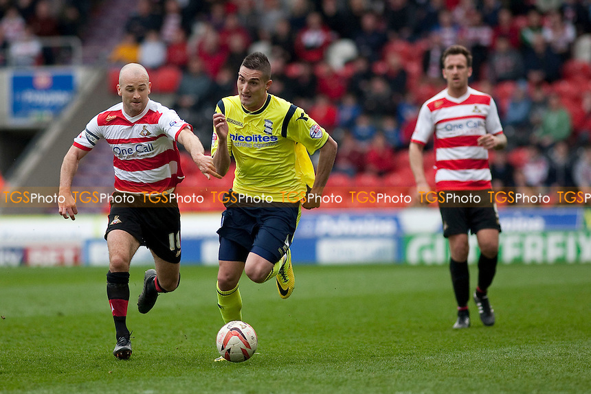 Federico Macheda of Birmingham<br /> - Doncaster Rovers vs Birmingham City - Sky Bet Championship Football at the Keepmoat Stadium, Doncaster - 05/04/14 - MANDATORY CREDIT: Mark Hodsman/TGSPHOTO - Self billing applies where appropriate - 0845 094 6026 - contact@tgsphoto.co.uk - NO UNPAID USE