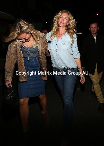 12 SEPTEMBER 2014 SYDNEY AUSTRALIA<br /> <br /> NON EXCLUSIVE<br /> <br /> Annalise Braakensiek pictured leaving the same Darlinghurst bar that Kim Kardashian arrived at just a few minutes before.