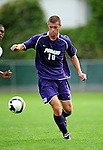 11 September 2009: University of Portland Pilots' midfielder Marc Tonkel, a Freshman from Los Gatos, CA, in action against the University of Vermont Catamounts in the first round of the 2009 Morgan Stanley Smith Barney Soccer Classic held at Centennial Field in Burlington, Vermont. The Catamounts and Pilots battled to a 1-1 double-overtime tie. Mandatory Photo Credit: Ed Wolfstein Photo