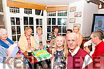 70th Birthday: William King, Kilflynn celebrating his 70th birthday with family & friends at Herbert's Bar, Kilfllynn on Saturday nigh last.