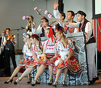 PSHRINE07P<br /> Members of Tambitzan dance group perform during the 50th annual Polish American family festival and country fair at the National Shrine of Our Lady of Czestochowa Sunday September 6, 2015 in Doylestown, Pennsylvania.  (William Thomas Cain/For The Inquirer)