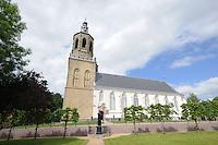 ALGEMEEN: DRONRIJP: 01-06-2014, Kerk Protestantse Gemeente Dronrijp e.o., ©foto Martin de Jong