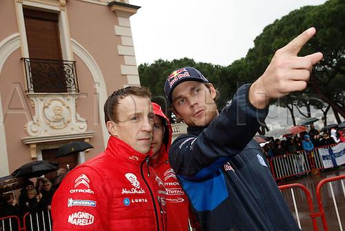 19.01.2014. Monte Carlo, Monaco. The WRC Monte Carlo rally conclusion.  AMBIANCE