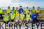 At the North Kerry's KDYS 'fittest Club'  Challenge at Ballyheigue beach  on Saturday were front l-r Melissa McHenry, Jamie Hannon, Cian Doherty, Cian McCarthy, Tadhg McEvoy, Tyler Watson, Back l-r Laura Stack, Eoin Ferris, Patrick Carmody, Conor Kehoe, Wesley Mosk, Shay Healy, Ricky Hussey