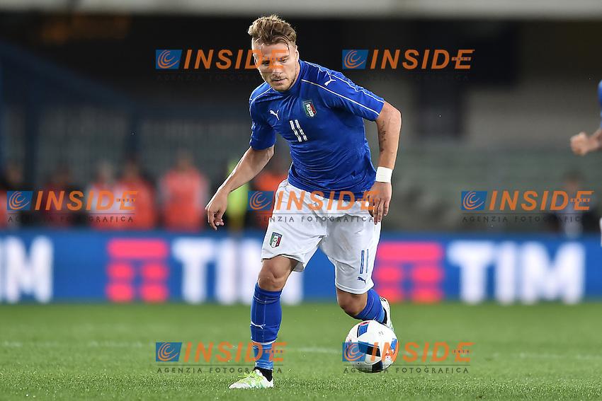 Ciro Immobile Italia <br /> Verona 06-06-2016 Stadio Bentegodi Football Friendly Match Italia - Finlandia / Italy - Finland . Foto Andrea Staccioli / Insidefoto