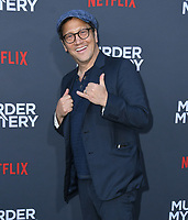 "10 June 2019 - Westwood, California - Rob Schneider. Netflix's ""Murder Mystery"" Los Angeles Premiere held at Regency Village Theater. Photo Credit: Birdie Thompson/AdMedia"